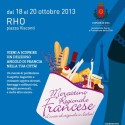 18/20-10-2013  –  Mercatino Regionale Francese