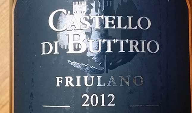 Castello di Buttrio – Friulano 2012