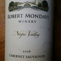 Robert Mondavi – Cabernet Sauvignon 2008