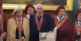 """Al Nobel Lindahl il titolo di """"cavaliere d'onore"""" delle Terre d'Asti"""