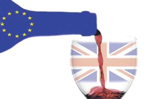 Con Brexit Italia -280mln export per cibo e vino