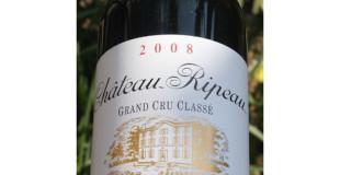 Chateau Ripeau 2008 Grand Crù Classè
