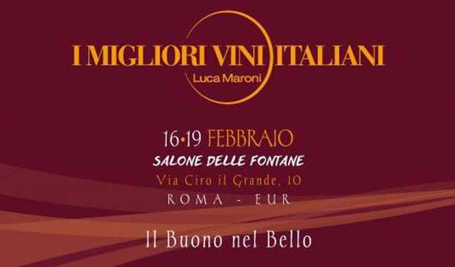 """Torna a Roma """"I Migliori Vini Italiani"""" di Luca Maroni"""