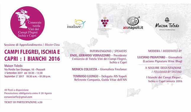 03-09-2017 – Campi Flegrei, Ischia e Capri: i bianchi 2016