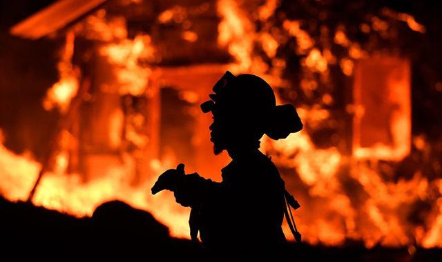 Napa Valley brucia