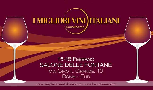 """""""I Migliori Vini Italiani"""" 2018, Roma: Luca Maroni poliedrico tra vini, poesie e Vigneto Italia"""