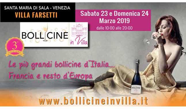 Bollicine in Villa 2019: i migliori spumanti italiani ed europei