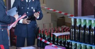 Nas Bologna: sequestrati 60000 litri di vino